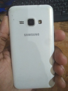 Samsung J1 2016 Branco, Frontal Queimada