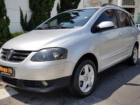 Volkswagen Spacefox 1.6 Sportlineflex 5p 2009 Prata Completo