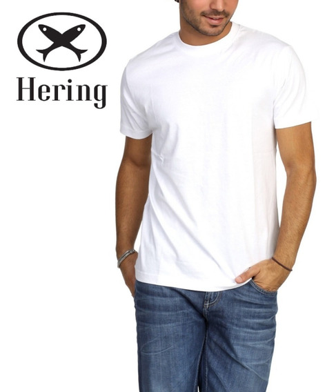 Camiseta Hering Manga Curta World Ref.0201