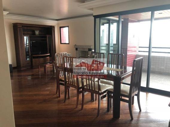 Apartamento Com 4 Dormitórios À Venda, 160 M² Por R$ 1.350.000 - Jardim Vila Mariana - São Paulo/sp - Ap8424