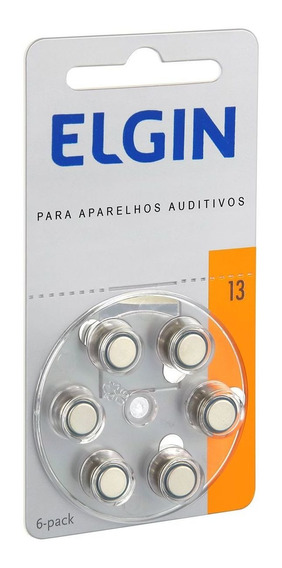 Bateria Auditiva 13 Pr48 C/6 82235 Elgin
