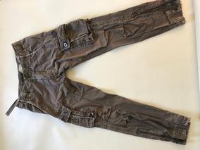 Pantalon Abercrombie Cargo Niño T-m (11/12) Seminuevo !!!!