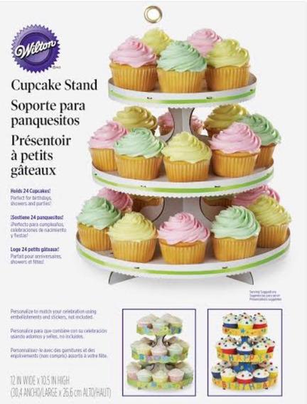 Soporte Base Para 24 Cupcakes