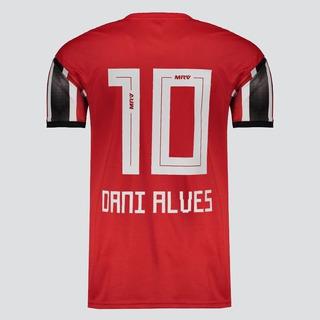 Camisa São Paulo Listrada Tricolor Dani Alves 2019 Original