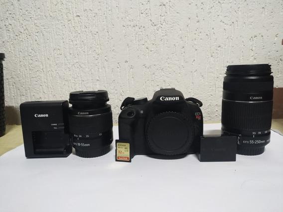 Canon T5 Completa Original + 18-55mm + 55-250mm