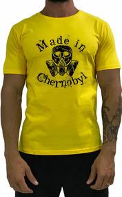 f58cce23f2 Camiseta Chernobyl - Camisetas Masculino no Mercado Livre Brasil