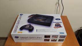 Sega Saturno Na Caixa+ 1 Jogo Original