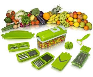 Nicer Dicer Plus Cortador Verduras Rallador Frutas Con Envio