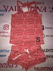 Pijamas Conjunto Short Y Blusa, Marca Bebe Y Us Polo
