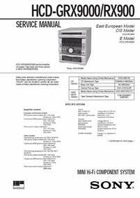 Sony Grx 9000 Somente Central