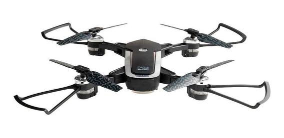 Drone Multilaser Eagle Fpv Câmera Hd 1280p 80m Flips 360º