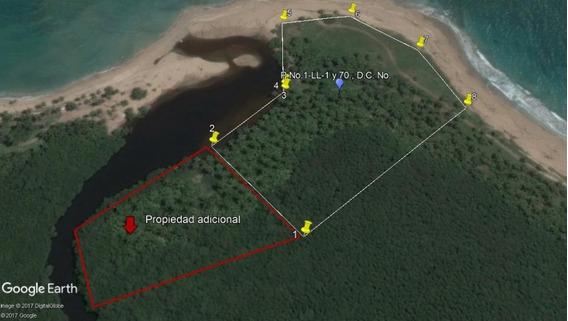 Terreno En Nisibon De 35mil Metros Con 450m2 De Playa