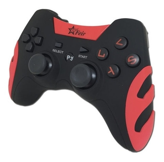 Controle joystick Feir FR-217 vermelho