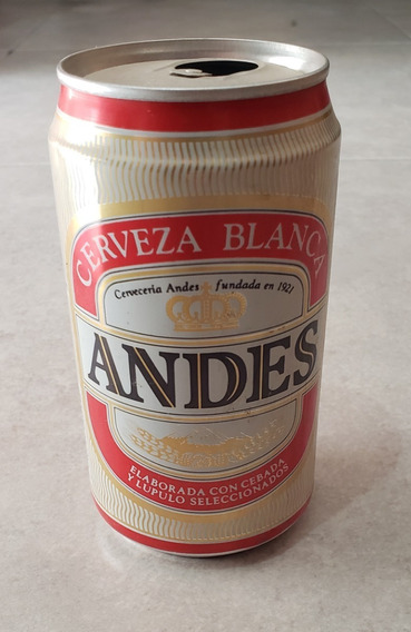 Antigua Lata Cerveza Andes De 1995 / Mendoza - Vacía