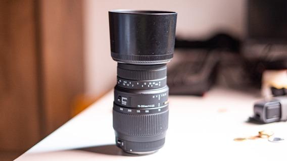 Lente Sigma Dg Macro 70-300mm F4-5.6