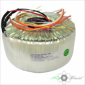 Transf. Toroidal 0-220v/ 70v+70v/ 3kva/ 12v+12v - 2a - 3kva