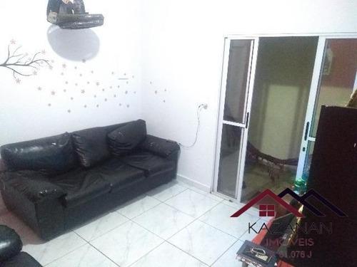 Casa De 3 Dormitórios Na Cidade Náutica Em São Vicente. - 4015