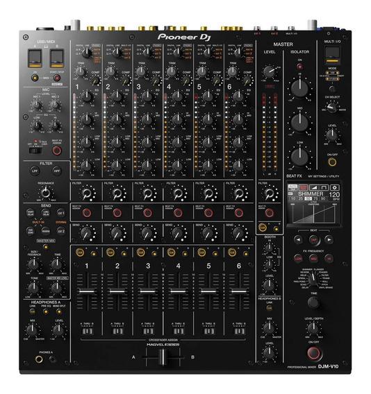 Mixer Pioneer Dj Djm-v10 Com Nota Fiscal E Garantia 1 Ano