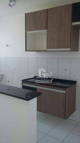 Apartamento Com 2 Dormitórios Para Alugar, 57 M² Por R$ 750,00/mês - Reserva Sul Condomínio Resort - Ribeirão Preto/sp - Ap0926