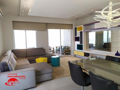 Imagem 1 de 15 de Duplex Mobiliado - Vila Olimpia 148 M² 3 Suites - L-947