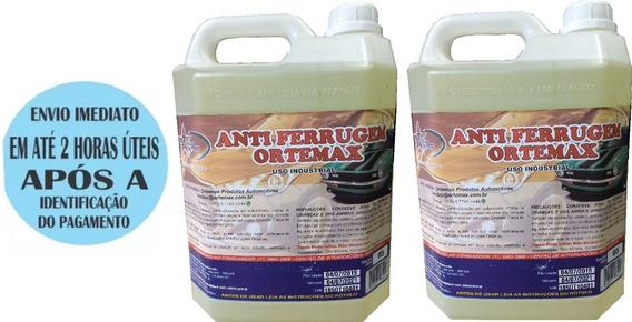 Anti Ferrugem Ortemax Vaselina Líquida Protetivo 10 Litros
