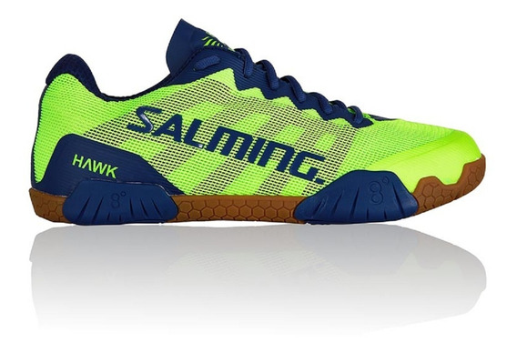 Courash Tenis Para Squash Salming Hawk Fluo Green/limoges Bl