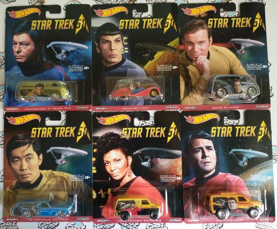 Hot Wheels Set Completo Star Trek