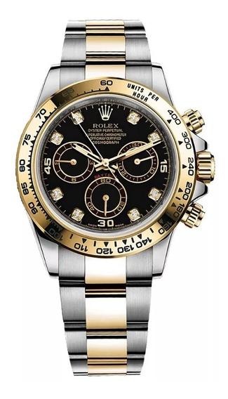 Relógio Rolex Daytona 2020 Ouro Com Diamantes Deligia