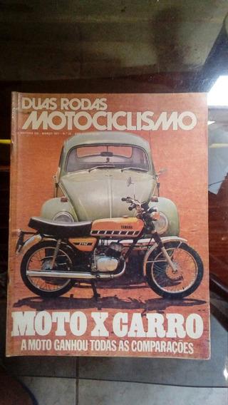 Revista 2 Rodas Numero 22, Março De 1977