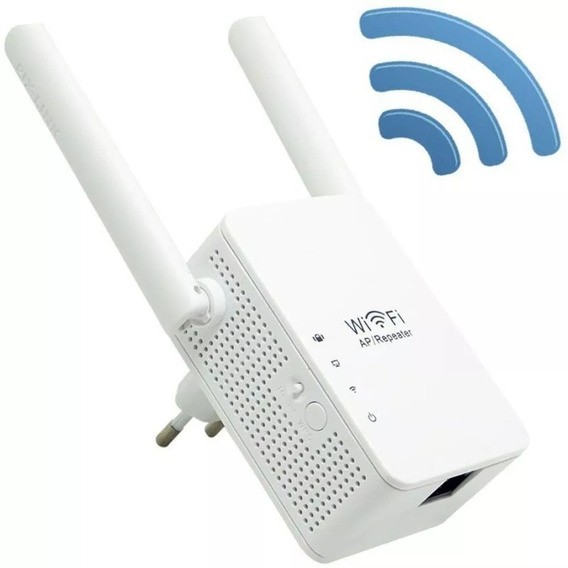 Repetidor Roteador 2 Antenas Amplificador Wi Fi Wireless