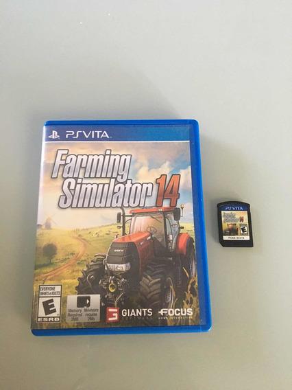 Farming Simulador 14 Para Ps Vita