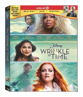 Blu-ray + Dvd A Wrinkle In Time Viaje En El Tiempo Digipack