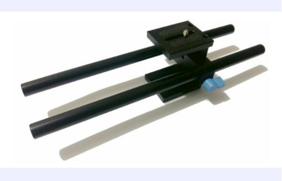 Kit Matte Box Fotga + Longarinas 30cm + Base Trilho 15mm