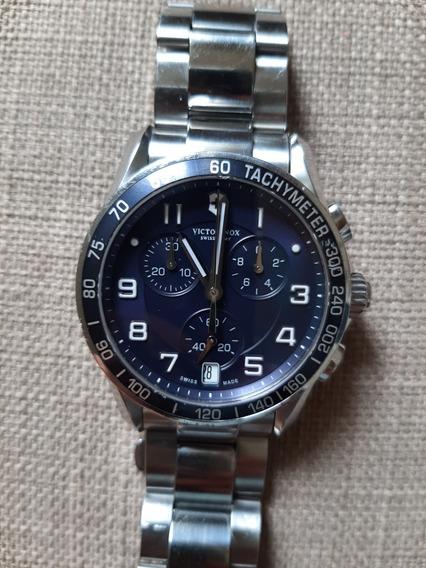 Relógio Victorinox Swiss Army Chrono Classic Blue Dial