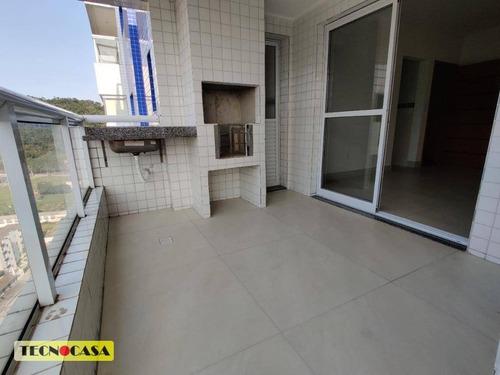 Imagem 1 de 30 de Lindo Apartamento Com 02 Dormitórios Para Venda Com  87 M² No Bairro  Canto Do Forte Em  Praia Grande/sp. - Ap6574