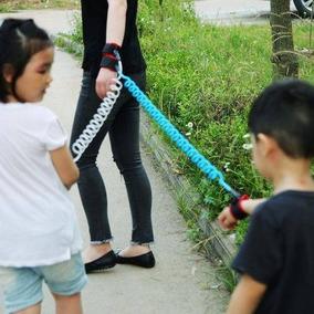 Pulseira Guia De Segurança Proteção Criança Menino Menina