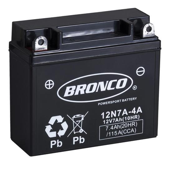 Bateria Bronco 12n7a-4a