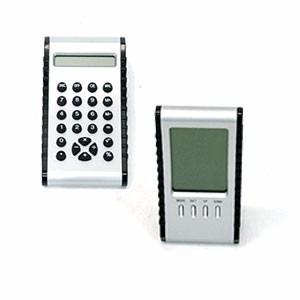 Calculadora/termômetro De Mesa Com Leitor Lcd