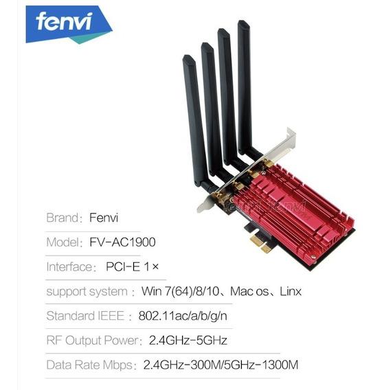 Adaptador Wifi Pci-e De 1900mbp/s 2.4 E 5.0ghz - Bcm94360