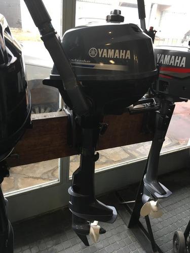 Imagen 1 de 4 de Motor Yamaha 2,5hp 4 Tiempos Pata Corta 2017 Como Nuevo!