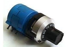 2 Dial + 2 Potenciometro Multvoltas De Precisão De 1 A 50k