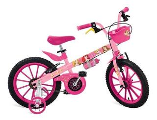Bicicleta Aro 16 Princesas Disney - Bandeirante 2198