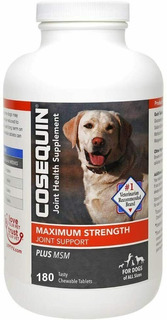 Cosequin Maximum Strength Plus Msm 180 Tabletes Força Maxíma