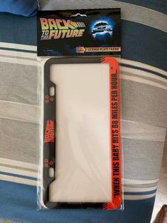 Portaplacas - Volver Al Futuro