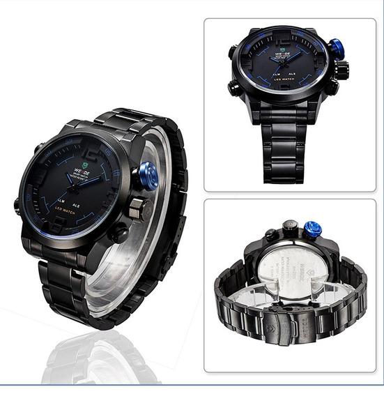 Relógio Masculino Pulso Weide Digital Wh2309-5 Promoção