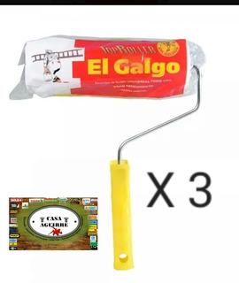 Rodillo Top Pelo Corto 22cm Latex 3 Unidades. ( Benavidez )