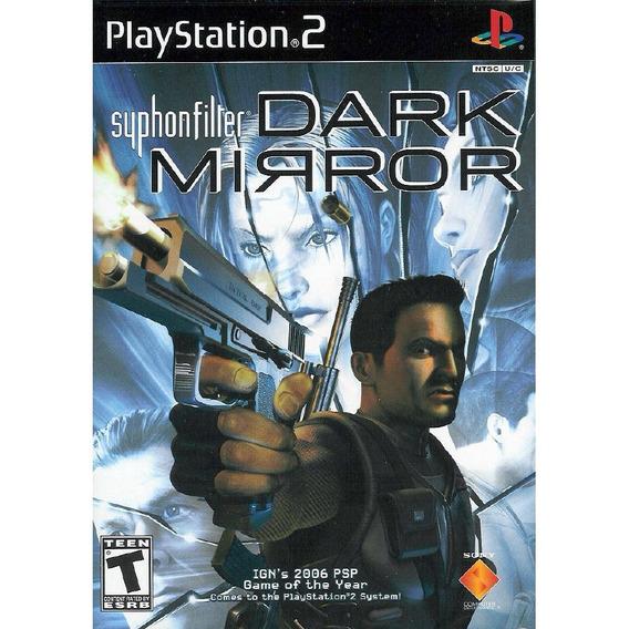 10 Jogos Syphon Filter Ps2 Dark Mirror Original Ps2 Lacrados