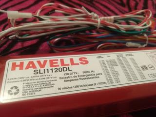 Balastra De Emergencia Para Lámpara FluorescenteSli1120dl