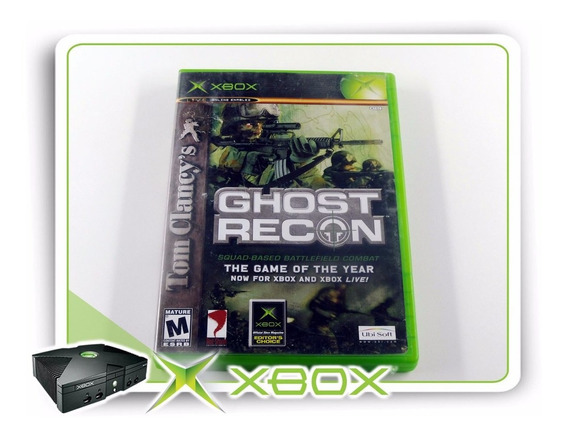 Xbox Tom Clancys Ghost Recon Original Xbox Clássico Ntsc