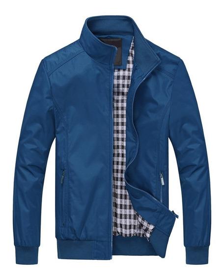 Abrigo De Chaqueta Casual De Moda Para Caballeros M-5xl